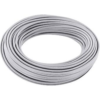 Jumper wire 1 x 0.20 mm² Grey BELI-BECO D 105/10