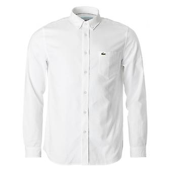 Lacoste Long Sleeved Shirt Oxford