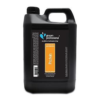 Groom Professional 2 In 1 Protein Shampoo 4 Litre