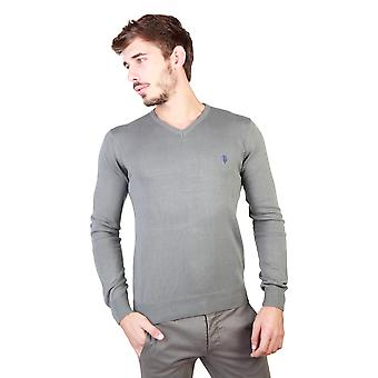U.S. Polo Men Sweaters Grey