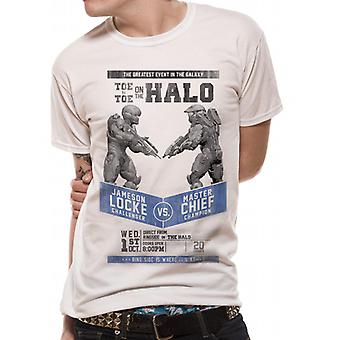 Halo 5 - Fight Poster T-Shirt(Unisex)