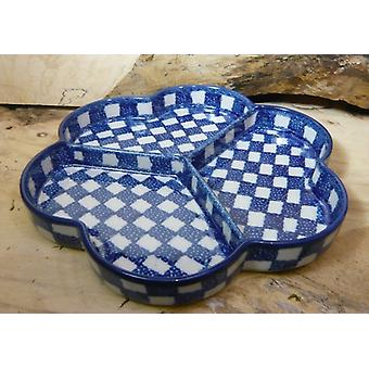 Snack plate, ø 24 cm, tradisjon 27 - keramisk røverkjøp - BSN 15105