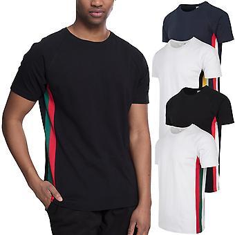 Urban classics - side stripe Raglan shirt