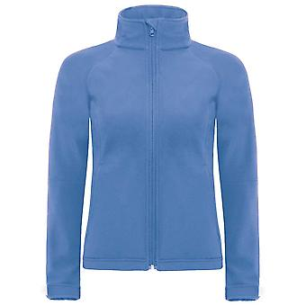 B&C Ladies High Performance Full Zip Hooded Softshell Fleece Jacket