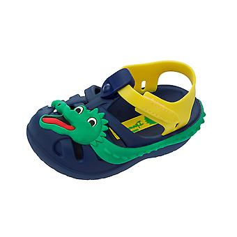 Ipanema Baby Summer Zoo Crocodile Sandals Infant Boy Flip Flops - Navy