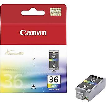 Canon Ink CLI-36 Original Cyan, Magenta, Yellow 1511B001