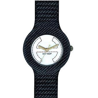 Hip hop watch polshorloge horloge siliconen Jeans zwarte jeans HWU0295