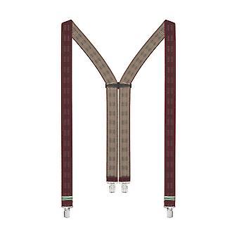 LLOYD suspenders men suspenders Bordeaux 6309