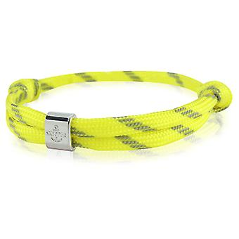 Skipper bracelet surfer band node maritimes bracelet yellow/black 6777