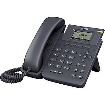 Corded VoIP Yealink SIP-T19P Hands-free, Headset connection Colour TFT/LCD Black