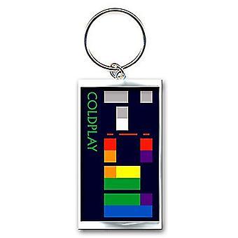 Coldplay X & Y álbum Logo peso pesado llavero Metal