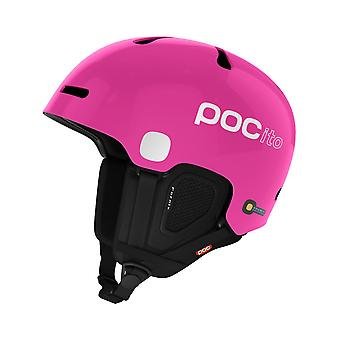 POC Fluorescent Pink 2017 Pocito Fornix Kids Snowboarding Helmet