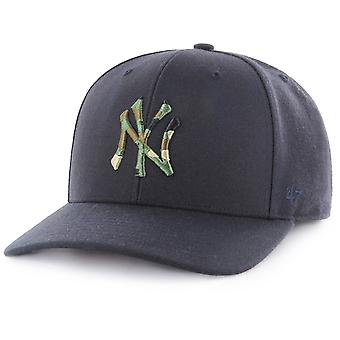 47 fire Adjustable Cap - CAMOFILL New York Yankees navy