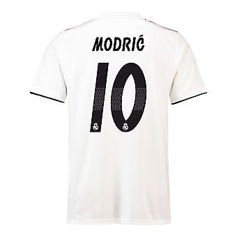 2018-19 Fußball-Trikot Real Madrid Home (Modric 10) - Kinder