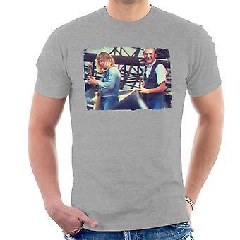 Live TV volte Status Quo t-shirt effetto 3D uomo
