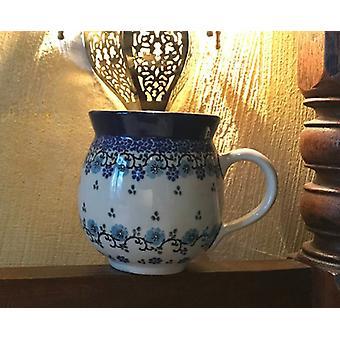 Pallone tazza 350 ml, ↑9, 5cm, Blu Royal, BSN A-0674
