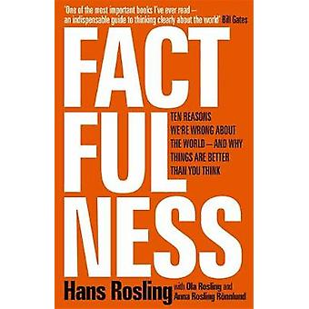 Factfulness by Hans Rosling - 9781473637467 Book