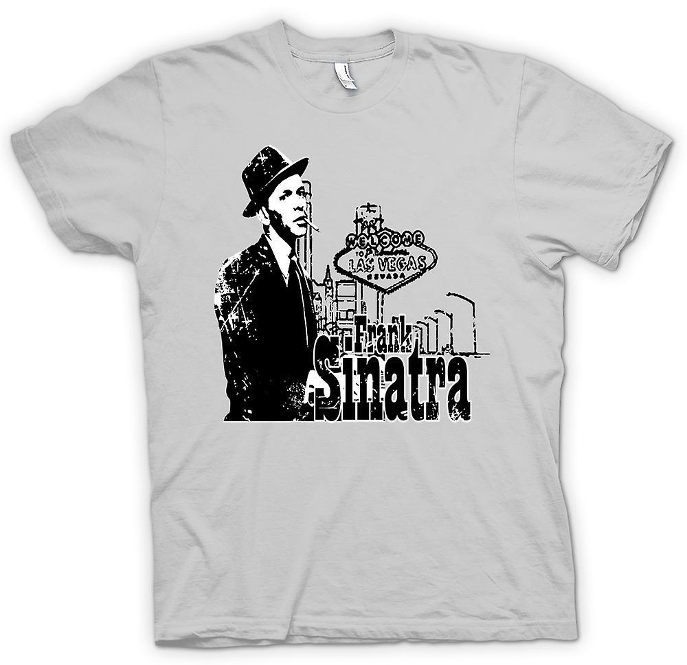 Mens t-skjorte-Frank Sinatra Vegas - Swing - ikonet