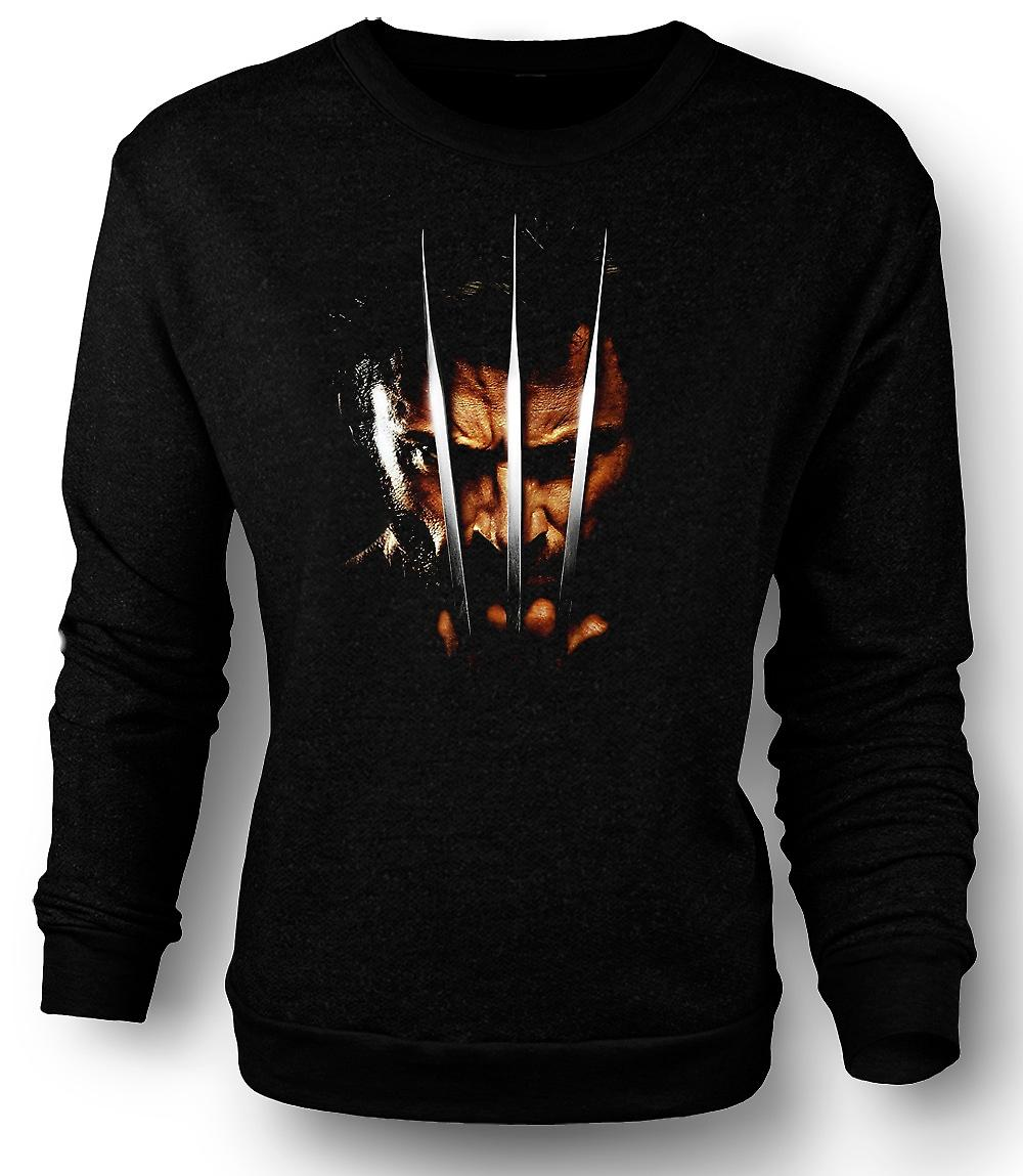 Mens Sweatshirt Wolverine - X Men - griffe
