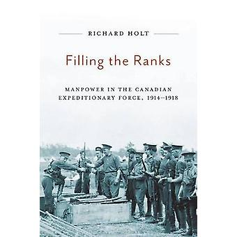 Filling the Ranks - Manpower in the Canadian Expeditionary Force - 191