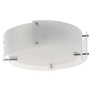 Searchlight 6044-44 Madison Chrome Finish Flush Ceiling Light