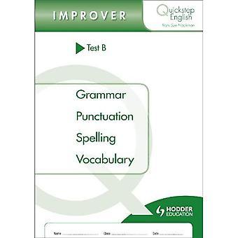 Quickstep englische B-Verbesserer Testphase (Packung mit 10)