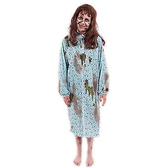 Femmes Exorcst Possédé enfant Regan Demon Zombie Halloween Fancy Dress Costume