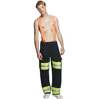 Déguisement de mens mâle pompier