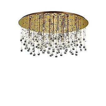 Ideal Lux - Moonlight Extra Large Gold Pendant IDL082790