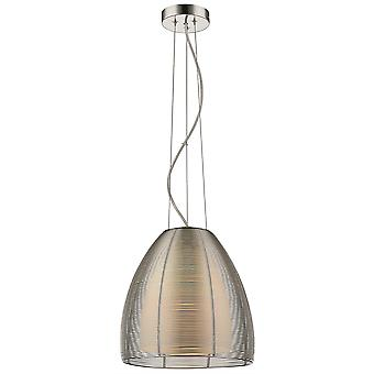 Spring Lighting - Walton Large Tapered Silver Finish Pendant  BMEH030TJ1QFOE