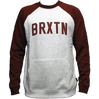 Brixton Ltd Hamilton Crewneck Sweatshirt Ash