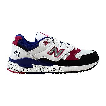 Nouveau solde 530 années 90 Running blanc/noir-rose-bleu W530PSA féminin