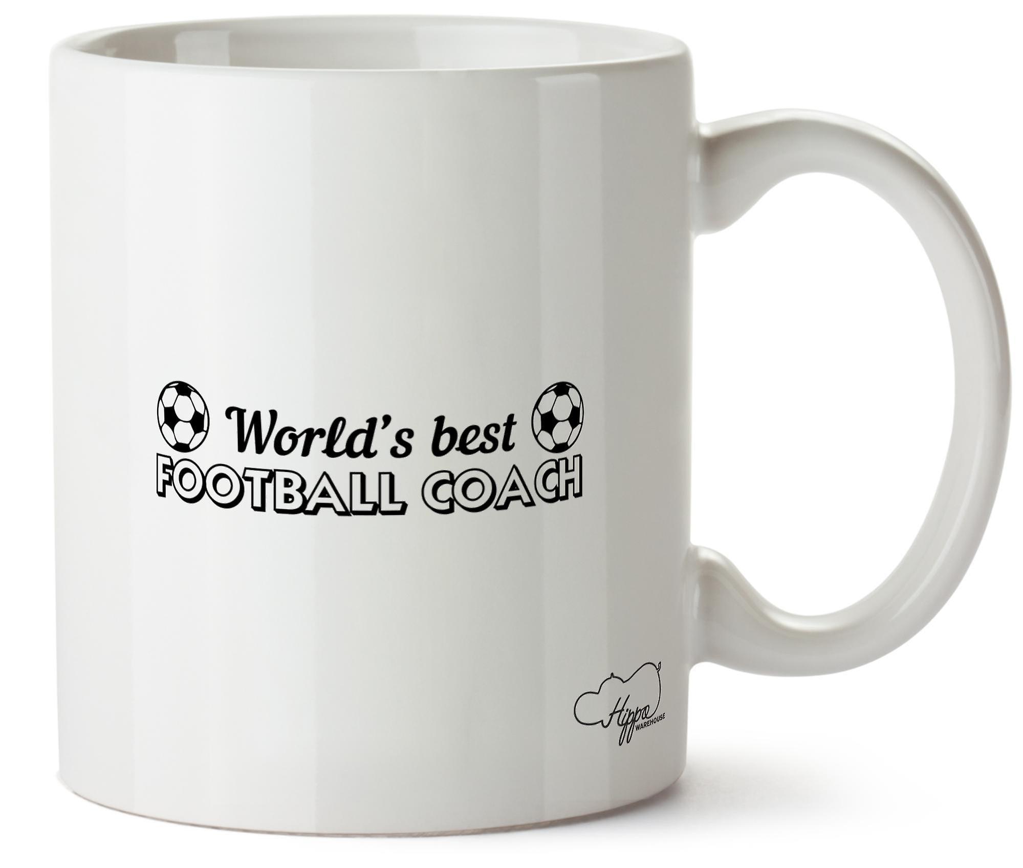 En Entraineur Hippowarehouse 10oz Tasse Football Imprimé Monde De Meilleur Céramique j435LRqA