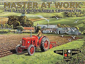 David Brown Master At Work metal sign   (og3040)