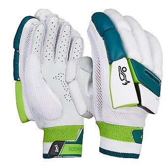 Kookaburra 2019 Kahuna 4.0 Cricket Batting Gloves White/Green