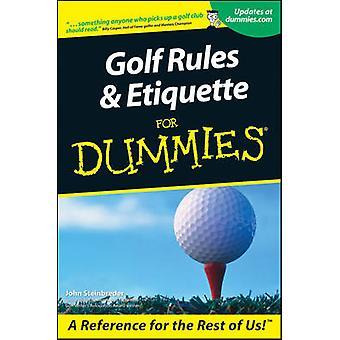 Etiquette de règles de golf pour Dum par Steinbreder