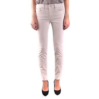 Ralph Lauren White Cotton Jeans