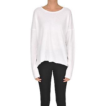 Gotha White Cotton Sweater