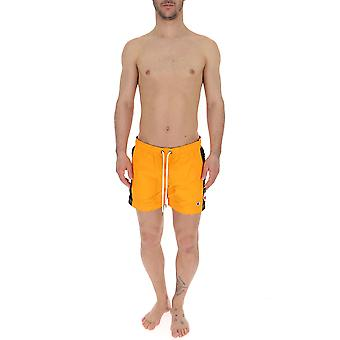 Champion Orange Nylon Trunks