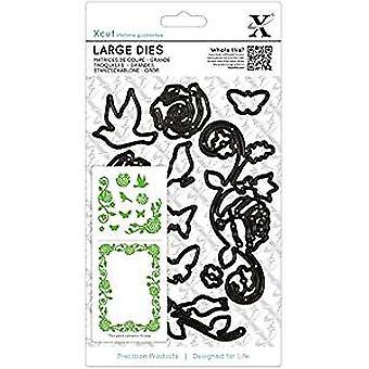 Xcut Large Dies (10pcs) - Rose Flourishes (XCU 503027)