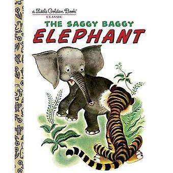 The Saggy Baggy Elephant by Byron Jackson - Golden Books - 9780307021