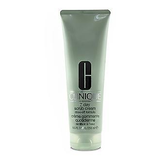 Clinique 7 Day Scrub Cream Rinse Off Formula 250ml/8.5oz