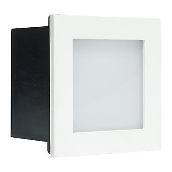 Cree LED trapverlichting Bilbao | vierkant | warmwit | 1 watt