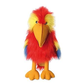 Hand Puppet - Grands Oiseaux - Scarlet Macaw Soft Doll Plush PC003104