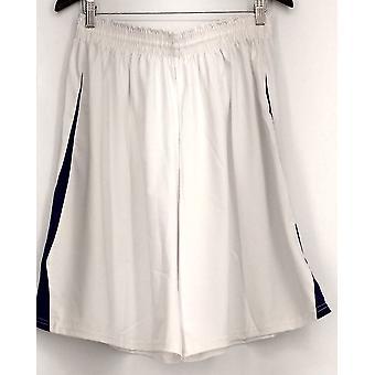 Holloway (XXL) Pull On Elastic Waist Men's Shorts White Womens
