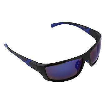 Sunglasses UV 400 Sport rectangle polarizing Glass Blue multicoloured S366_4 FREE BrillenkokerS366_4