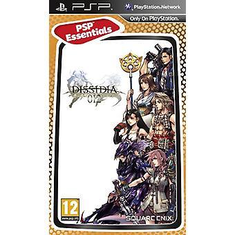 Dissidia 012 Duodecim Final Fantasy - Essentials (PSP) - Usine scellée