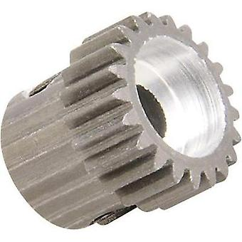Spare part Team C TC1220 64dp 20-tooth aluminium sprocket