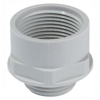 Cable gland adapter PG29 M40 Polyamide Light grey Wiska APM 29/40 1 pc(s)