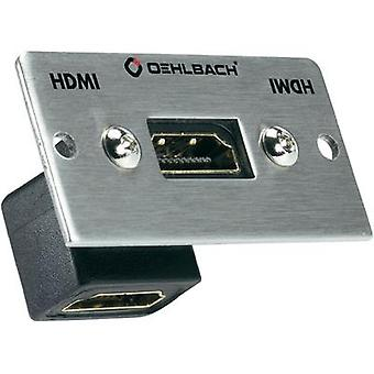 HDMI Multimedia inset + gender changer Oehlbach PRO IN MMT-G90 HS